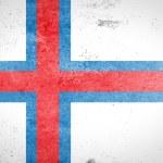 Grunge Faroe Islands Flag — Stock Photo #61309189