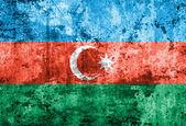 Azerbaijan flag on old paper — Stock Photo