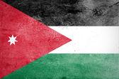 垃圾摇滚的 Jordan 国旗 — 图库照片