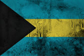 Grungy Bahamas Flag — Stock Photo