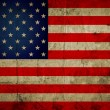 Grunge USA flag background — Stock Photo #61327225