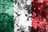 Grunge flag of European country Italy — Stock Photo
