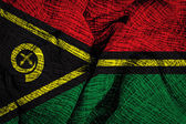 Vanuatu national flag — Stock Photo