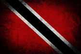 Grunge Trinidad and Tobago Flag — Stock Photo