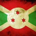 Burundi flag on grunge paper — Stock Photo #61378785