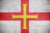 Guernsey flag — Stock Photo