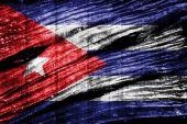 σημαία της κούβας — Φωτογραφία Αρχείου