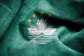 Macau flag — Stock Photo