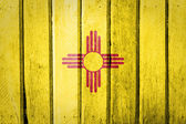 New Mexico State flag — Stock Photo