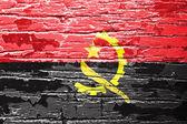 Angola flag — Stock Photo