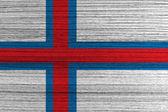 Faroe Islands flag — Stock Photo
