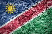 Drapeau de la namibie — Photo