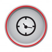 Alarm icon — Stock Vector