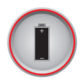 Battery charge icon — Stock Vector