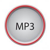 MP3 icon — Stock Vector