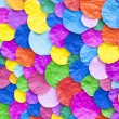 Abstract of colorful paper craft background — Stock Photo #70650861