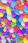Abstract of colorful paper craft background — Stock Photo