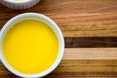 Duck Egg Custard — Stock Photo