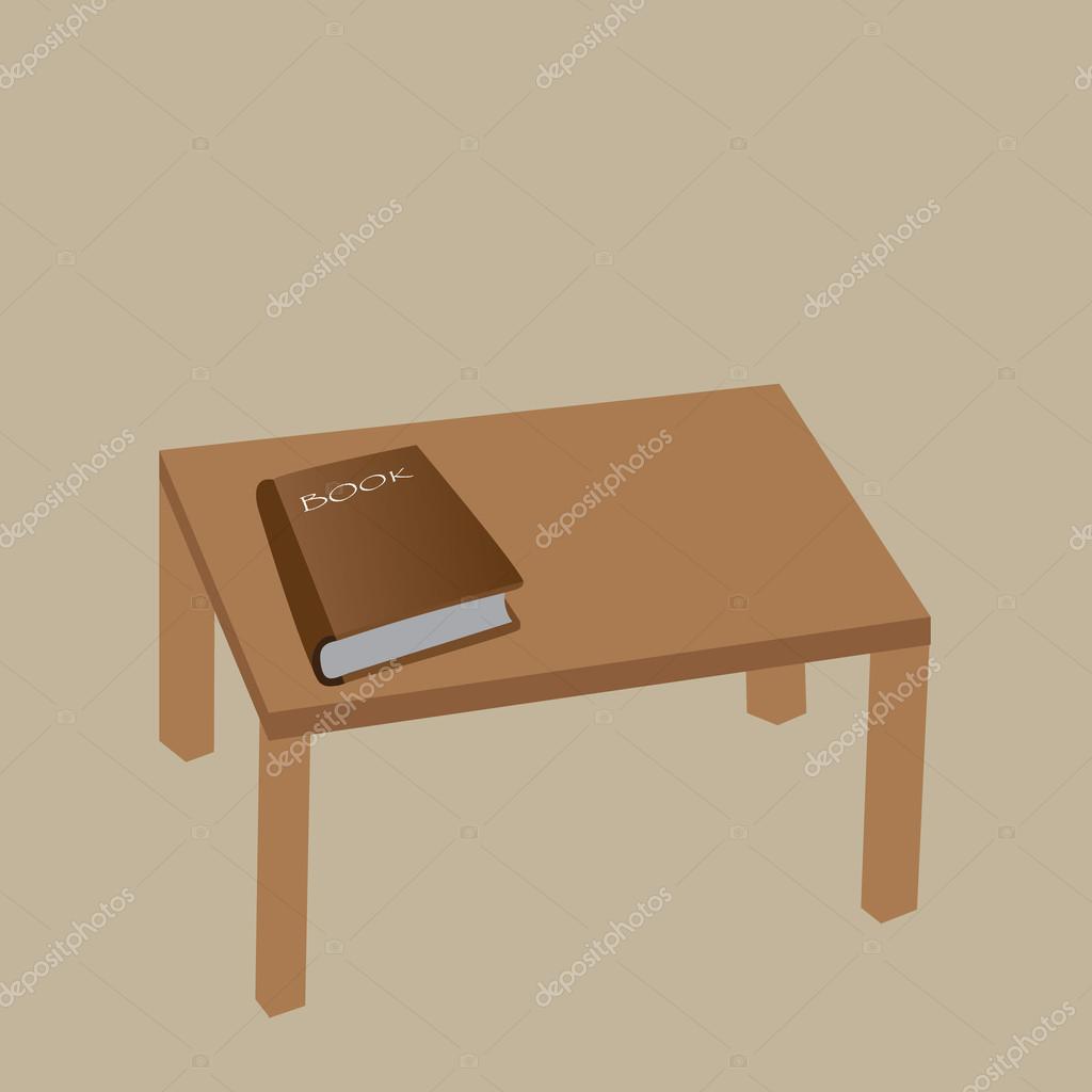 Libro sobre la mesa archivo im genes vectoriales eisa - Mesas de libro para salon ...