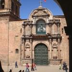 Histórico edifício no centro de Cuzco, Peru — Fotografia Stock  #56509357