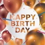Happy Birthday — Stock Vector #55378833