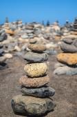 Uma torre de pedras — Foto Stock