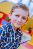 Smiling  boy. Close-up. — Stock Photo