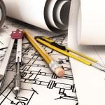 Desk Engineer. — Stock Photo #57608149