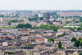 Aerial view of the city of Lodz, Poland — Stock Photo