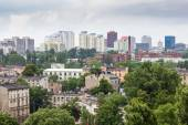 Panorama of Lodz city in Poland  — Stock Photo
