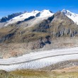 Aletsch Glacier in the Swiss Alps — Foto Stock #58922143