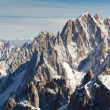 Landscape of high alps mountains in the Mont Blanc massif — Stock Photo #58924515