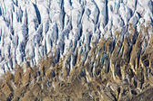 Aletsch Glacier in the Swiss Alps — Zdjęcie stockowe