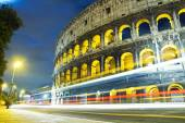 View of the Colosseum at night — Stock Photo