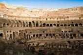 Interior of the Colosseum in Rome — Stock Photo