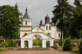 Historic church in Siemiatycze — Stock Photo
