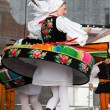 Folk dancers from city of Lowicz in traditional costumes — Stock Photo #61303689
