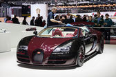 Bugatti Veyron Grand Sport at Geneva Motor Show 2015 — Stock Photo