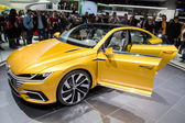 Volkswagen Sport Coupe GTE at Geneva Motor Show 2015 — Stock Photo