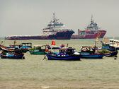 Ships and Boats — Stock Photo