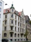 Dans la rue dans la ville allemande — Photo
