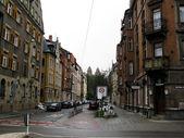 на улице в немецком городе — Стоковое фото