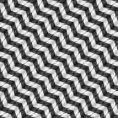 Moving Stripes, Optical Illusion, Vector Seamless Pattern. Some motion and waving appear. — Cтоковый вектор