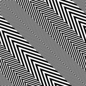 Abstract Black and White Herringbone Fabric Style Vector Seamless Pattern — Stock Vector
