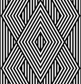 Abstract Black and White Vector Seamless Pattern — Stockvektor