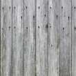 Weathered Wood Plank Barn Siding Background with Rusty Nail heads. — Stock Photo #55979145