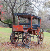 Antique Horse Drawn Buggy — Foto de Stock