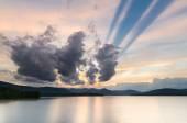 Op het Ashokan Reservoir, Nyc watervoorziening. — Stockfoto