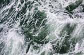 Sea waves background — Stock Photo