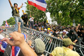 Protest of Thailand people — Stock Photo